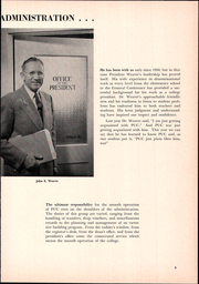 Page 13, 1952 Edition, Pacific Union College - Diogenes Lantern Yearbook (Angwin, CA) online yearbook collection