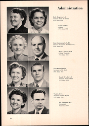 Page 14, 1952 Edition, Pacific Union College - Diogenes Lantern Yearbook (Angwin, CA) online yearbook collection