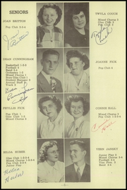 Page 10, 1949 Edition, Friend High School - Bulldog Yearbook (Friend, NE) online yearbook collection