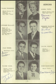 Page 13, 1949 Edition, Friend High School - Bulldog Yearbook (Friend, NE) online yearbook collection
