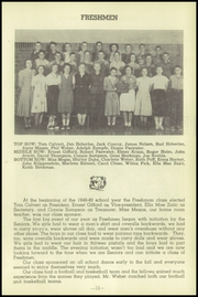 Page 17, 1949 Edition, Friend High School - Bulldog Yearbook (Friend, NE) online yearbook collection