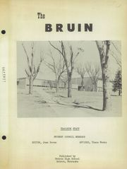 Page 3, 1955 Edition, Hebron High School - Bruin Yearbook (Hebron, NE) online yearbook collection