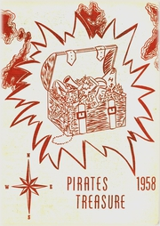 1958 Edition, Plainview High School - Pirate Treasure Yearbook (Plainview, NE)