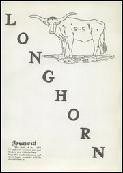 Page 7, 1952 Edition, Rushville High School - Longhorn Yearbook (Rushville, NE) online yearbook collection