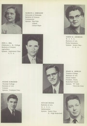 Page 11, 1954 Edition, Randolph High School - Cardinal Yearbook (Randolph, NE) online yearbook collection