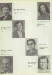 Page 12, 1954 Edition, Randolph High School - Cardinal Yearbook (Randolph, NE) online yearbook collection