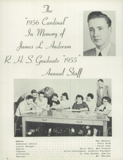 Page 6, 1956 Edition, Randolph High School - Cardinal Yearbook (Randolph, NE) online yearbook collection