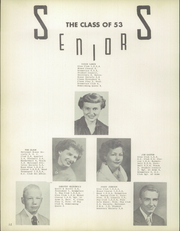 Page 16, 1953 Edition, Garden County High School - Eagle Yearbook (Oshkosh, NE) online yearbook collection