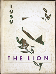 1959 Edition, Louisville High School - Lion Yearbook (Louisville, NE)