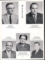 Page 10, 1960 Edition, Louisville High School - Lion Yearbook (Louisville, NE) online yearbook collection