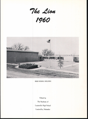 Page 5, 1960 Edition, Louisville High School - Lion Yearbook (Louisville, NE) online yearbook collection