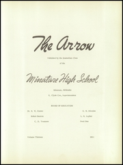 Page 7, 1951 Edition, Minatare High School - Arrow Yearbook (Minatare, NE) online yearbook collection