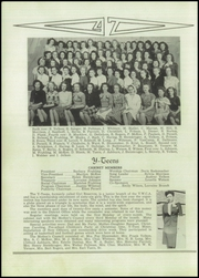 Franklin High School - Flyers Yearbook (Franklin, NE) online yearbook collection, 1947 Edition, Page 40