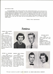 Page 12, 1956 Edition, Pawnee City High School - Indian Yearbook (Pawnee City, NE) online yearbook collection