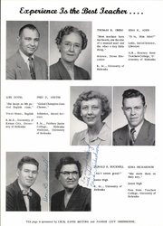 Page 8, 1956 Edition, Pawnee City High School - Indian Yearbook (Pawnee City, NE) online yearbook collection