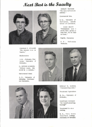 Page 9, 1956 Edition, Pawnee City High School - Indian Yearbook (Pawnee City, NE) online yearbook collection