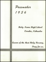 Page 5, 1956 Edition, Holy Name High School - Pacemaker Yearbook (Omaha, NE) online yearbook collection
