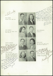 Page 8, 1947 Edition, Osceola High School - Bulldog Yearbook (Osceola, NE) online yearbook collection