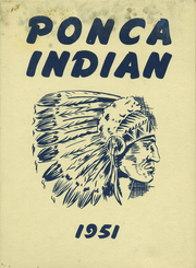 Page 1, 1951 Edition, Ponca High School - Indian Yearbook (Ponca, NE) online yearbook collection