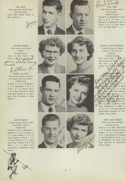 Page 12, 1951 Edition, Ponca High School - Indian Yearbook (Ponca, NE) online yearbook collection