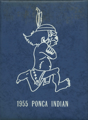 Ponca High School - Indian Yearbook (Ponca, NE) online yearbook collection, 1955 Edition, Page 1