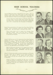 Page 14, 1949 Edition, Wauneta High School - Broncho Yearbook (Wauneta, NE) online yearbook collection