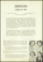 Page 15, 1949 Edition, Wauneta High School - Broncho Yearbook (Wauneta, NE) online yearbook collection