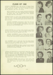 Page 16, 1949 Edition, Wauneta High School - Broncho Yearbook (Wauneta, NE) online yearbook collection