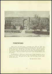 Page 6, 1949 Edition, Wauneta High School - Broncho Yearbook (Wauneta, NE) online yearbook collection
