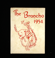 1954 Edition, Wauneta High School - Broncho Yearbook (Wauneta, NE)