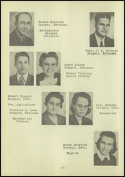 Page 10, 1946 Edition, Sargent High School - Bulldog Yearbook (Sargent, NE) online yearbook collection