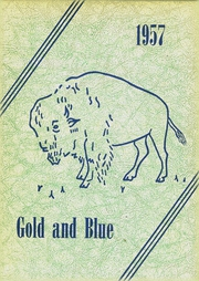 1957 Edition, Elm Creek High School - Gold and Blue Yearbook (Elm Creek, NE)