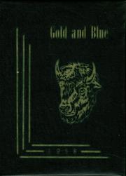 1958 Edition, Elm Creek High School - Gold and Blue Yearbook (Elm Creek, NE)