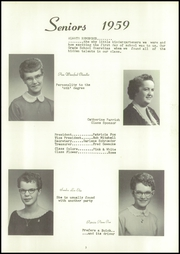 Page 7, 1959 Edition, Elm Creek High School - Gold and Blue Yearbook (Elm Creek, NE) online yearbook collection