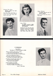 Page 16, 1955 Edition, College View High School - Viewpoint Yearbook (Lincoln, NE) online yearbook collection
