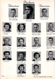 Page 8, 1955 Edition, College View High School - Viewpoint Yearbook (Lincoln, NE) online yearbook collection