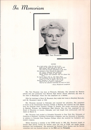 Page 9, 1955 Edition, College View High School - Viewpoint Yearbook (Lincoln, NE) online yearbook collection