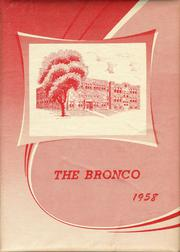 1958 Edition, Stapleton High School - Bronco Yearbook (Stapleton, NE)