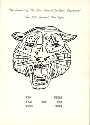 Page 5, 1951 Edition, Paxton High School - Tiger Yearbook (Paxton, NE) online yearbook collection
