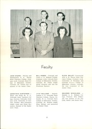 Page 8, 1951 Edition, Paxton High School - Tiger Yearbook (Paxton, NE) online yearbook collection