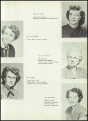 Page 11, 1954 Edition, Loomis High School - Green Wave Yearbook (Loomis, NE) online yearbook collection