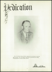 Page 8, 1954 Edition, Loomis High School - Green Wave Yearbook (Loomis, NE) online yearbook collection