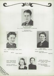 Page 6, 1942 Edition, Hayes Center High School - Cardinal Yearbook (Hayes Center, NE) online yearbook collection