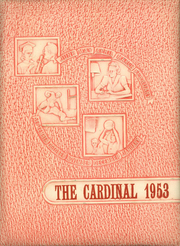 1953 Edition, Hayes Center High School - Cardinal Yearbook (Hayes Center, NE)