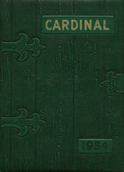 1954 Edition, Hayes Center High School - Cardinal Yearbook (Hayes Center, NE)