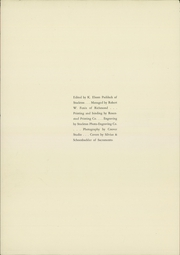 Page 4, 1932 Edition, University of the Pacific - Naranjado Yearbook (Stockton, CA) online yearbook collection