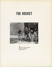 Page 5, 1968 Edition, Syracuse High School - Rocket Yearbook (Syracuse, NE) online yearbook collection