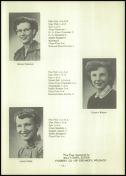 Page 17, 1955 Edition, Wolbach High School - Mustang Yearbook (Wolbach, NE) online yearbook collection
