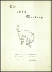 Page 5, 1955 Edition, Wolbach High School - Mustang Yearbook (Wolbach, NE) online yearbook collection