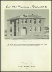Page 6, 1955 Edition, Wolbach High School - Mustang Yearbook (Wolbach, NE) online yearbook collection